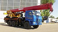Автокран на шасси КАМАЗ 43118 SANY