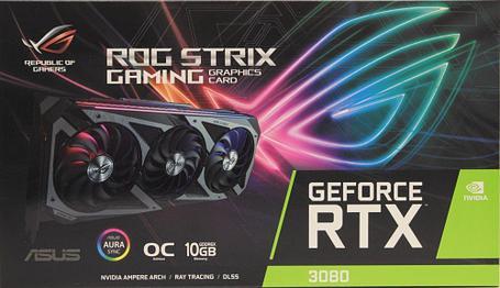 Видеокарта Asus RTX 3080 ROG-STRIX-RTX3080-10 GB, фото 2