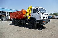 Автомобиль-самосвал КАМАЗ 43118 с крано-манипуляторной установкой