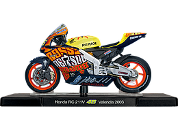 1/18 Maisto Металлический модель мотоцикла Honda RCV Persol 2003 желтый-розовый