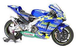 1/18 Maisto Металлический модель мотоцикла Honda RCV Telefonica MoviStar 2003 синий