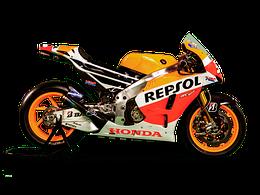 1/18 Maisto Металлический модель мотоцикла Honda RCV Persol 2003 оранжевый