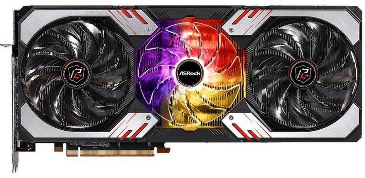 Видеокарта AsRock RADEON RX 6800 Phantom Gaming D OC 16GB