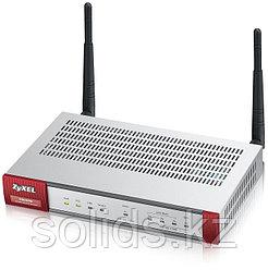 Беспроводной межсетевой экран Zyxel USG40W, 1xWAN GE, 1xOPT GE (LAN/WAN), 3xLAN/DMZ GE, 802.11b/g/n