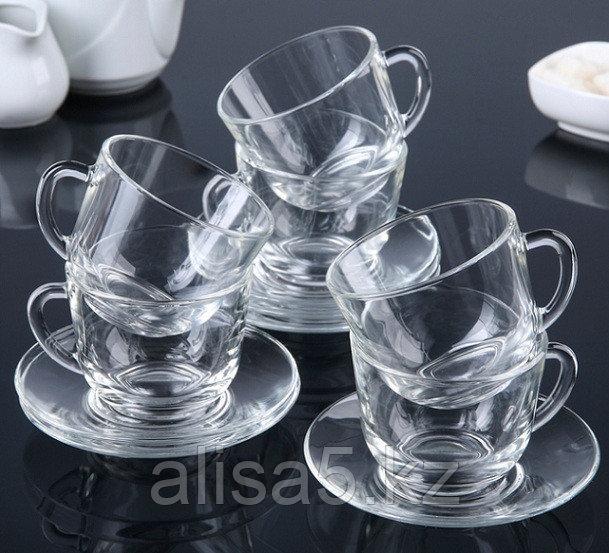 Гламур набор чайный на 6 персон из 12 предметов, шт