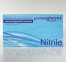 Перчатки S 100шт нитрил черные Panagloves