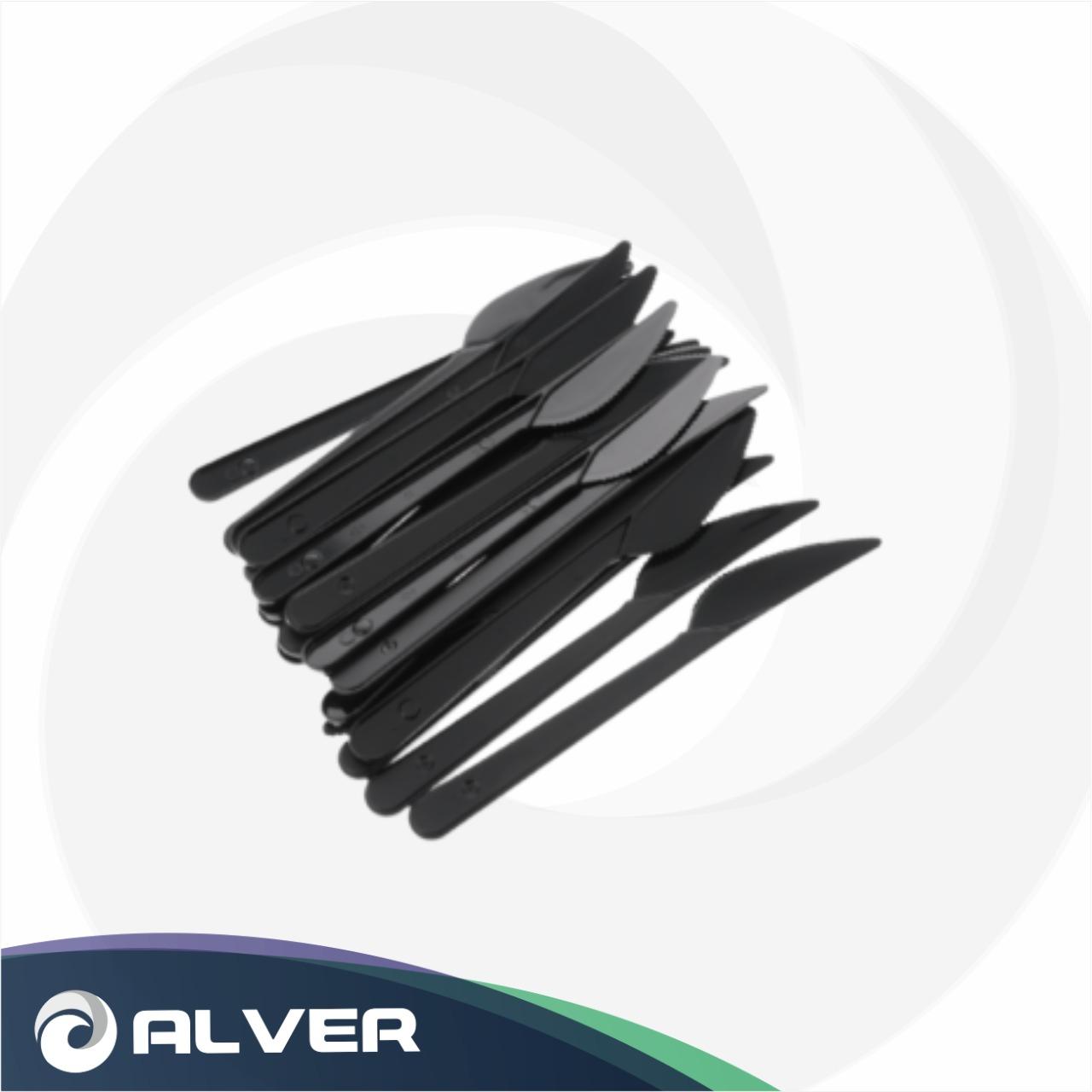 Нож столовый Черный Премиум