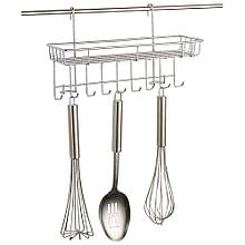 Полка навесная с крючками для кухни Mallony FORTUNA PR-08