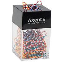 Диспенсер для скрепок магнитный Axent 4120 черный