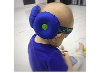 Защита для головы синяя