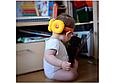 Защита  для головы желтая, фото 3