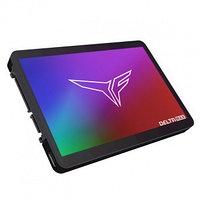 """Накопитель SSD 2.5"""" SATA III TEAM T-FORCE 1TB DELTA MAX RGB BLACK"""