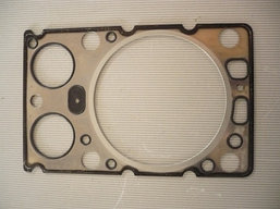 Прокладка головки блока двигателя Weichai (1ком=6шт)  WD618, 612600040355