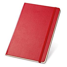 Блокнот A5 TWAIN, красный