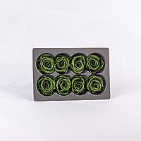 Роза Медиа (зеленый чай); 8 бутонов