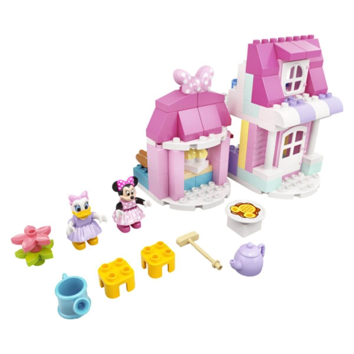LEGO DUPLO Disney Дом и кафе Минни