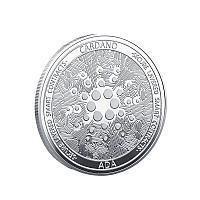 Сувенирная монета Cardano, серебро, толщина 3 мм