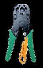 Обжимной инструмент для коннекторов RJ45/11/12