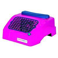 Настольный пылесборник PROMED Nailfan (без мешка для сбора пыли), цвет розовый,белый