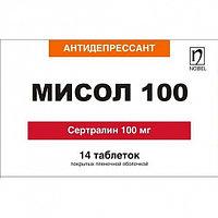 Мисол 100 мг, № 14, таблетки