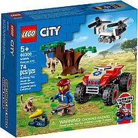 LEGO CITY Город Спасательный вездеход для зверей