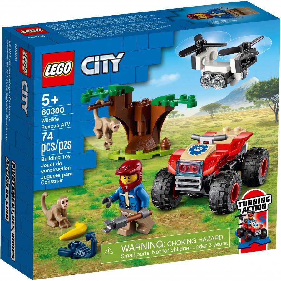 LEGO CITY Город Спасательный вездеход для зверей - фото 1