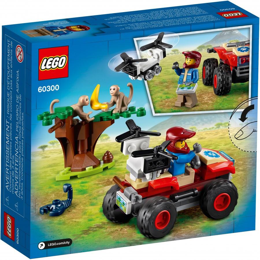 LEGO CITY Город Спасательный вездеход для зверей - фото 2