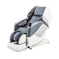 Массажное кресло Casada AURA grey-white, Брейнтроникс (серо-белое)