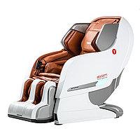 Массажное кресло Yamaguchi YA-6000 Axiom бело-рыжее