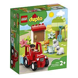 LEGO DUPLO Town Фермерский трактор и животные