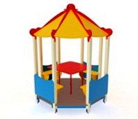 Детский игровой комплекс Беседка восьмиугольная