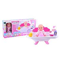Пупс с ванночкой для купания кукол Pituso