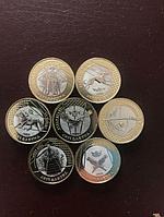 Набор монет, 100т.г., Jeti Qazina