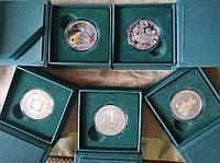 Юбилейные монеты Казахстана, номиналом 200 т.г., качества Proof like