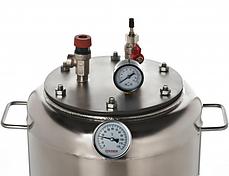Автоклав бытовой газовый А8 Бук(8 банок по 0,5 л, нержавейка), фото 3