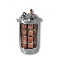 Автоклав бытовой газовый А32 Бук (32 банки по 0,5 л, нержавейка), фото 2