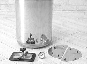 Автоклав электрический Гуд 24-electro (универсальный, 24 банки 0,5 л). Крышка поджимается изнутри, фото 2