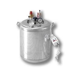 Автоклав электрический Гуд 16-electro (универсальный, 16 банок 0,5 л). Крышка поджимается изнутри