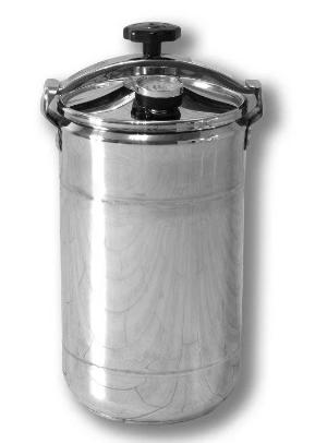 Автоклав бытовой кассетный Бинго 12 Бук (12 банок по 0,5 л, универсальный), фото 2