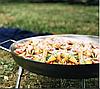Сковорода-диск для пикника 45 см нержавеющая сталь, фото 3