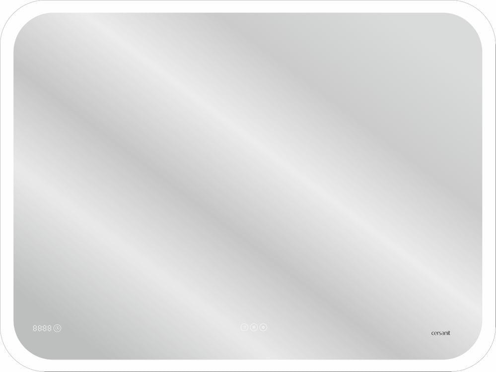 Зеркало Cersanit LED DESIGN PRO 070 80*60 bluetooth часы с подсветкой прямоугольное(KN-LU-LED070*80-p-Os) - фото 1