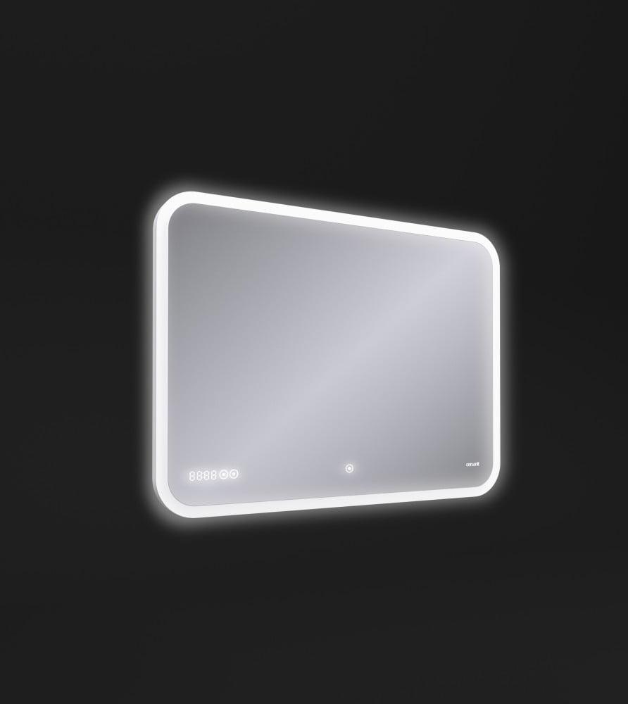 Зеркало Cersanit LED DESIGN PRO 070 80*60 bluetooth часы с подсветкой прямоугольное(KN-LU-LED070*80-p-Os) - фото 2