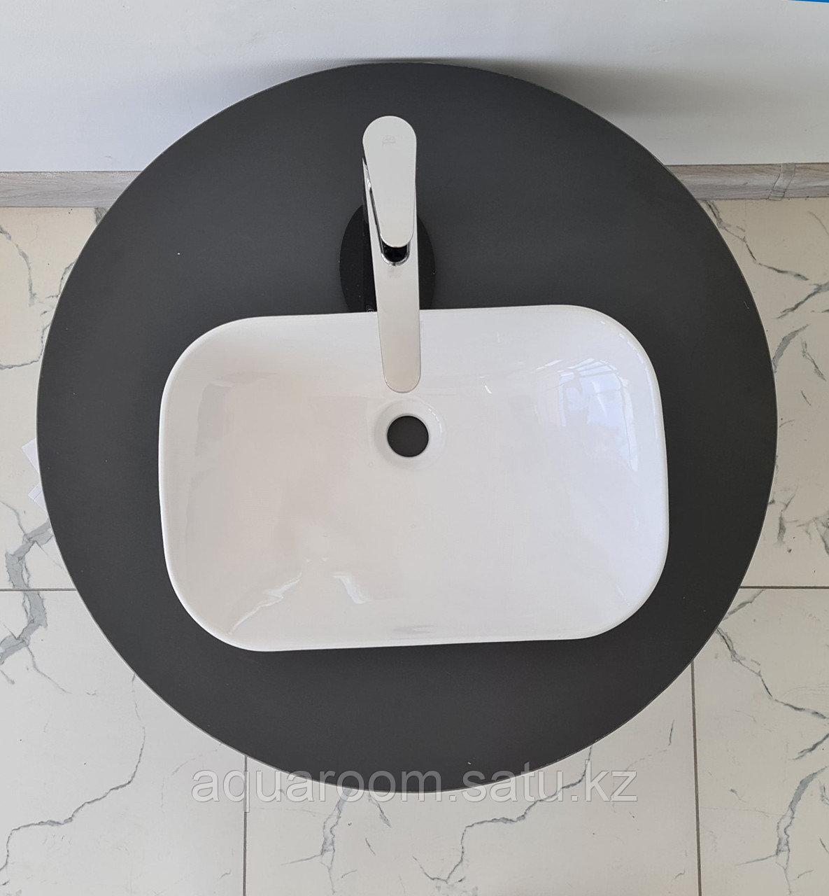 Раковина керамическая Estetica накладная на столешницу 510*335 (403102) - фото 2