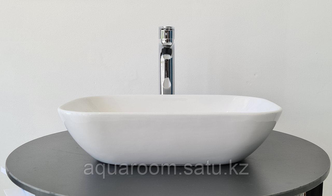 Раковина керамическая Estetica накладная на столешницу 510*335 (403102) - фото 1
