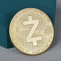 Сувенирная монета Zcash, толщина 3 мм