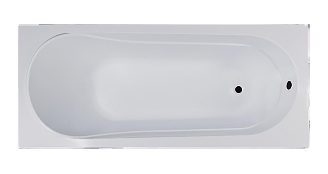 Ванна акриловая VentoSpa AQUA LA 1500х700/1 AQ150.070