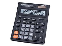 """Калькулятор настольный CITIZEN """"SDC-444"""" 12-разрядный черный"""