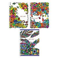 """Записная книжка ArtSpace """"ZenArt"""" А6, 140 листов на гребне, клетка"""