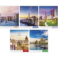 """Тетрадь общая ArtSpace """"Путешествия. City voyage"""", А5, 48 листов в клетку, на скрепке"""