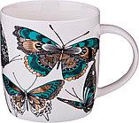 "Кружка ""бабочки"" 350 мл без упаковки (мал=6шт./кор=48шт.)"